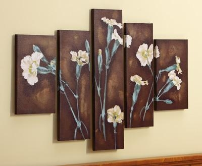 Wall Decor: Attractive Blue And Brown Wall Decor Navy Blue Canvas Within Blue And Brown Canvas Wall Art (View 7 of 20)
