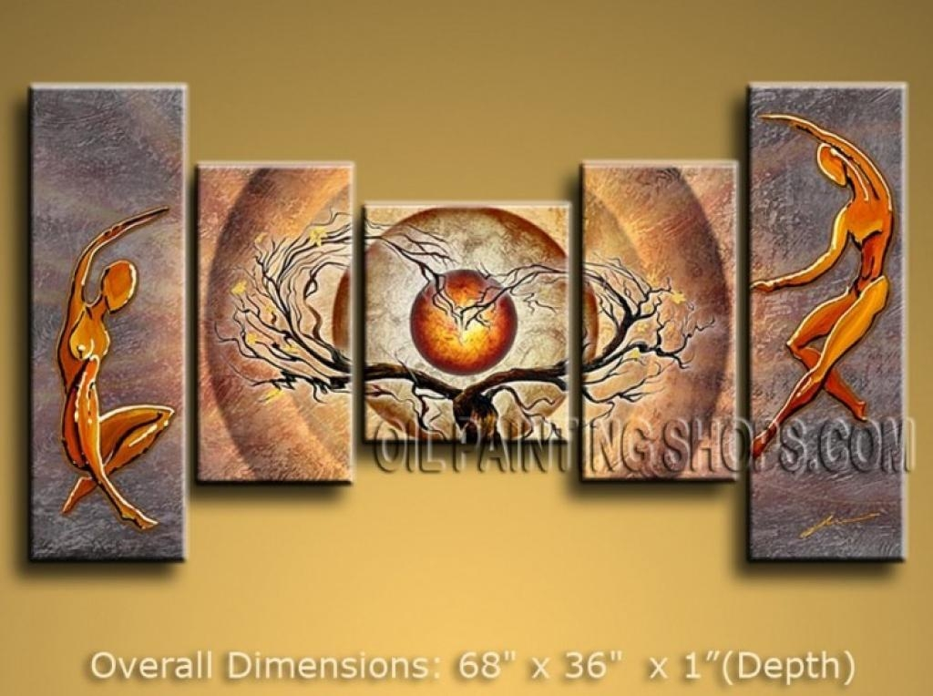 Wall Paintings For Home Decoration Elegant Home Wall Art Intended For Canvas Wall Art At Wayfair (View 2 of 20)