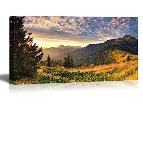 Wall26 Canvas Prints Wall Art – Colorful Autumn Landscape In The Throughout Mountains Canvas Wall Art (Image 20 of 20)