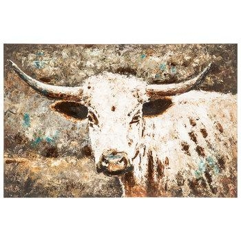 Watercolor Cow Canvas Wall Decor | Hobby Lobby | 1291392 Inside Canvas Wall Art At Hobby Lobby (Image 19 of 20)