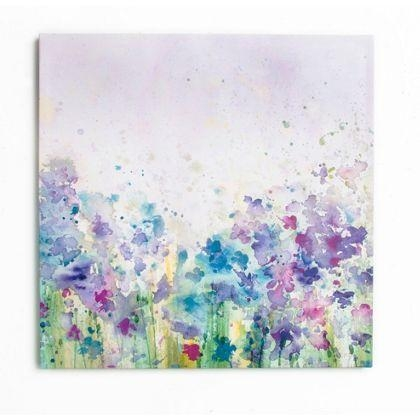 Watercolour Meadow Canvas | Rosehill – Spare Room | Pinterest In Homebase Canvas Wall Art (Image 20 of 20)