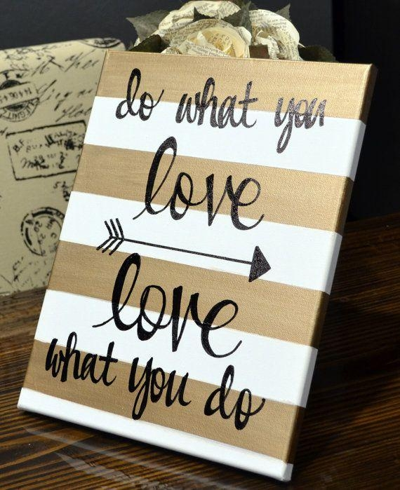 Well Suited Ideas Canvas Wall Art Quotes Also Designs Inside Custom Quote Canvas Wall Art (View 11 of 20)