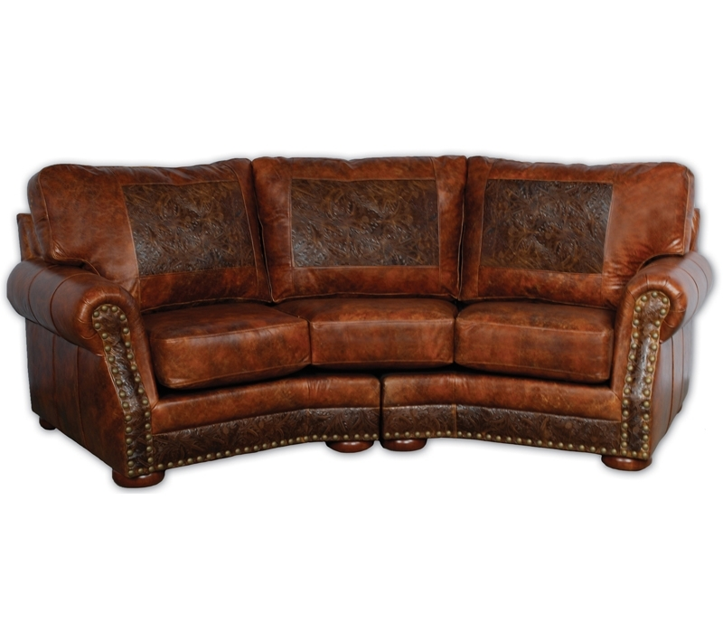 Western Sofas | Western Leather Sofas For Western Style Sectional Sofas (Image 6 of 10)