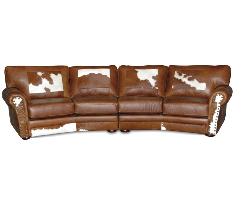 Western Sofas | Western Leather Sofas With Western Style Sectional Sofas (Image 7 of 10)
