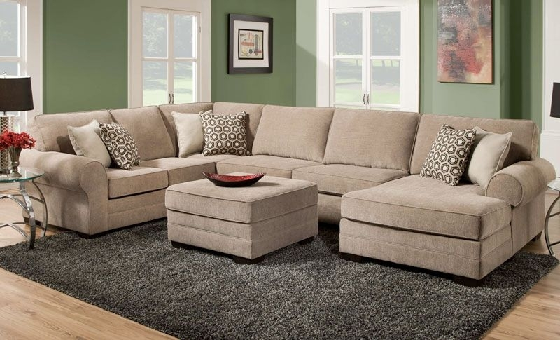 Weston Cobblestone Sectional Sofa – Grand Home Furnishings | K4396 Intended For Grand Furniture Sectional Sofas (Image 10 of 10)
