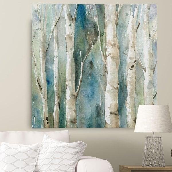 Wexford Home Carol Robinson 'river Birch I' Canvas Wall Art – Free Regarding Birch Trees Canvas Wall Art (View 6 of 20)