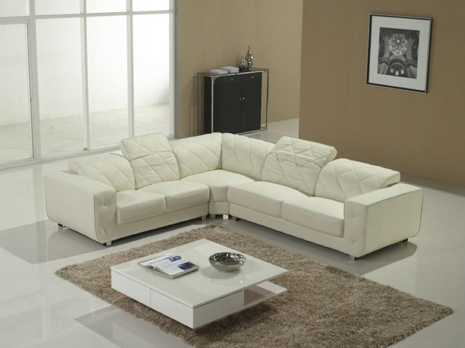 White Sectional Sofa V 23 | Sectionals With Regard To White Sectional Sofas (Image 10 of 10)