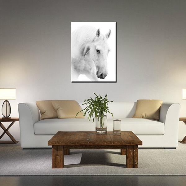 Wholesale 100% Original Canvas Prints For Living Room White Horse Within Cape Town Canvas Wall Art (Image 20 of 20)