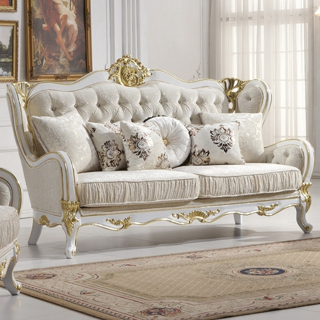 Wholesale Europe Classic Style Sofa Furniture Oak Wood Carving With With Classic Sofas (Image 10 of 10)