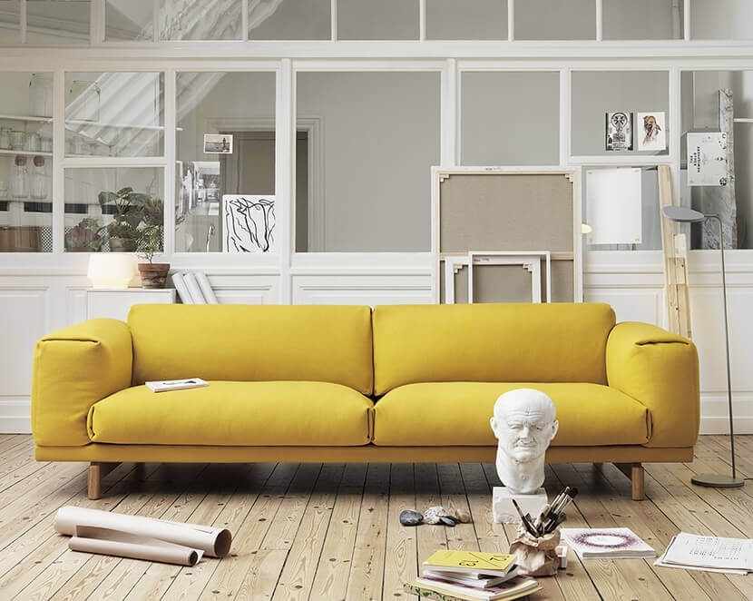 Why The Chunky Low Sofa Has Our Attention – Emily Henderson Throughout Low Sofas (Image 10 of 10)
