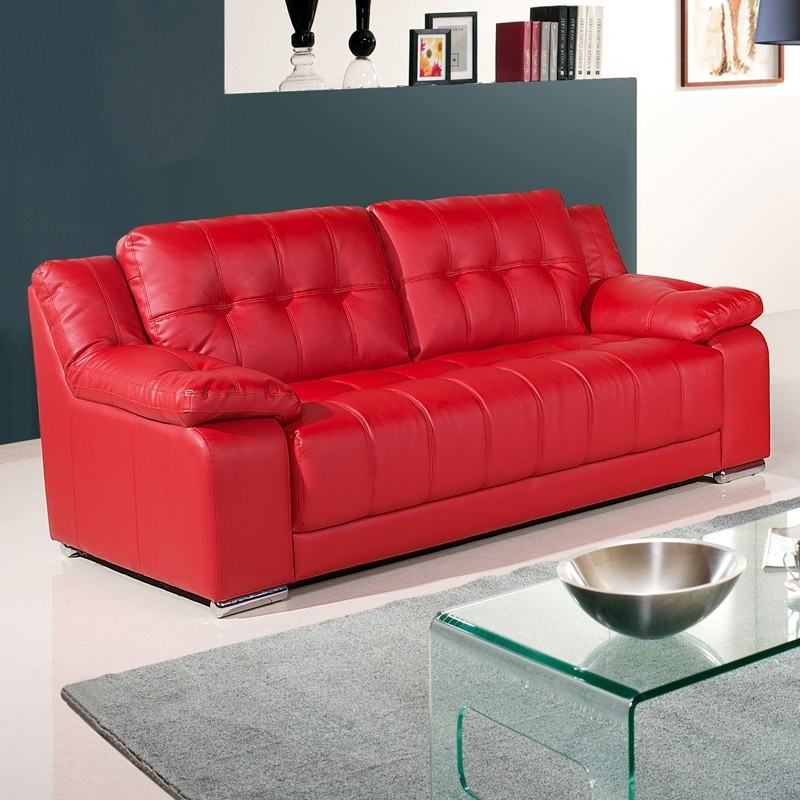 Why You Should Get A Red Leather Sofa – Elites Home Decor Regarding Red Leather Couches (Image 10 of 10)