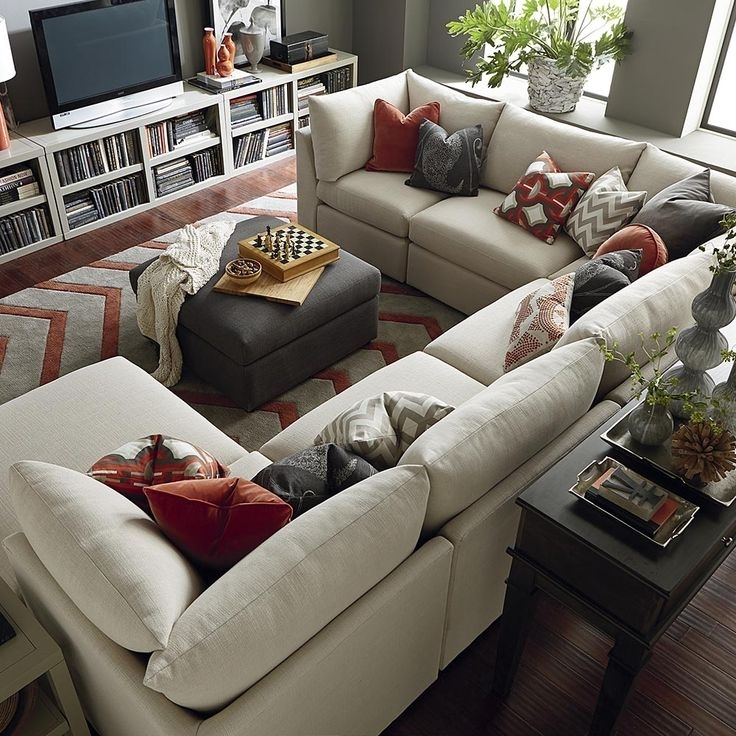 Why You Should Go For A U Shaped Sectional Sofa – Elites Home Decor For Vaughan Sectional Sofas (View 3 of 10)