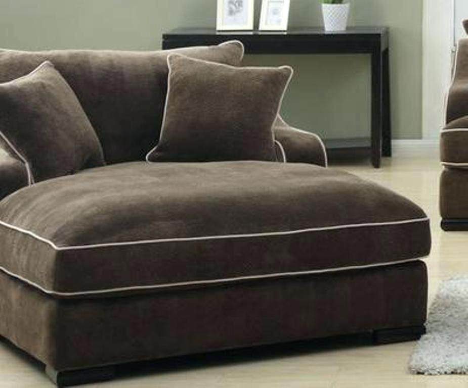 Wide Chaise Lounge Chair Amazing Of Double Chaise Lounge Sofa Chaise For Wide Sofa Chairs (Image 9 of 10)