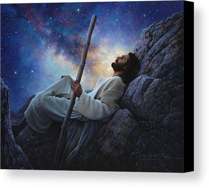 Worlds Without End Canvas Print / Canvas Artgreg Olsen Pertaining To Jesus Canvas Wall Art (Image 20 of 20)