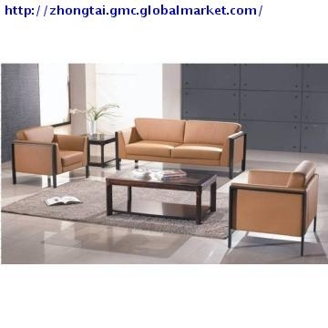 Zt S175, China Modern Leather Office Sofa Set/ Office Furniture With Office Sofas And Chairs (Image 10 of 10)