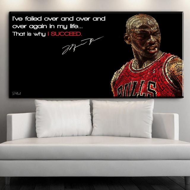 Zz1608 Canvas Posters And Prints Art Hd Michael Jordan Canvas Pertaining To Michael Jordan Canvas Wall Art (Image 20 of 20)