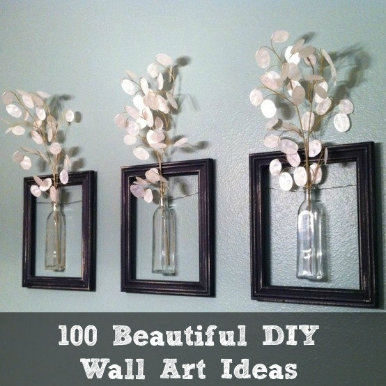 100 Beautiful Diy Wall Art Ideas Pertaining To Diy Wall Art (Image 1 of 10)