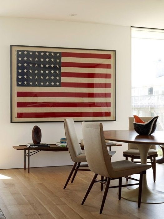 102 Best On The Wall Images On Pinterest | American Flag Decor, Art Intended For Vintage American Flag Wall Art (View 10 of 10)