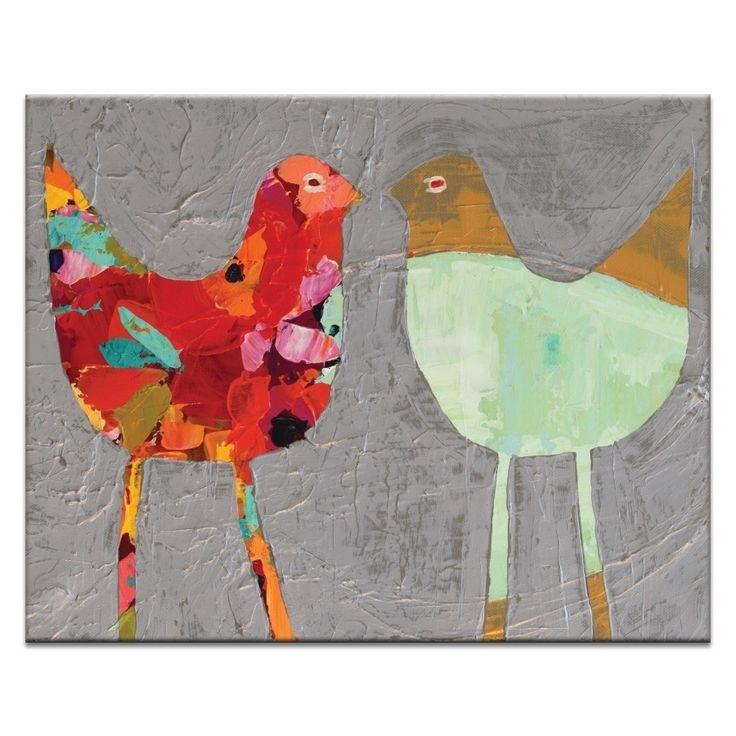 14 Best Anna Blatman Images On Pinterest | Art Walls, Canvas Art Regarding Bird Framed Canvas Wall Art (Image 1 of 10)