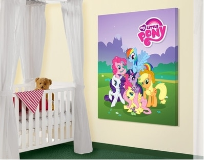 14 Best Room Ideas For My Little Pony Fans Images On Pinterest For My Little Pony Wall Art (Image 1 of 10)