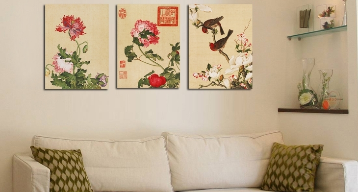 15+ Chinese Wall Art Designs, Ideas | Design Trends – Premium Psd Regarding Chinese Wall Art (Image 1 of 10)