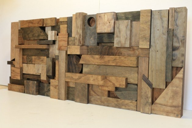 15 Extremely Easy Diy Wall Art Ideas For The Non Skilled Diyers For Diy Wood Wall Art (Image 1 of 10)