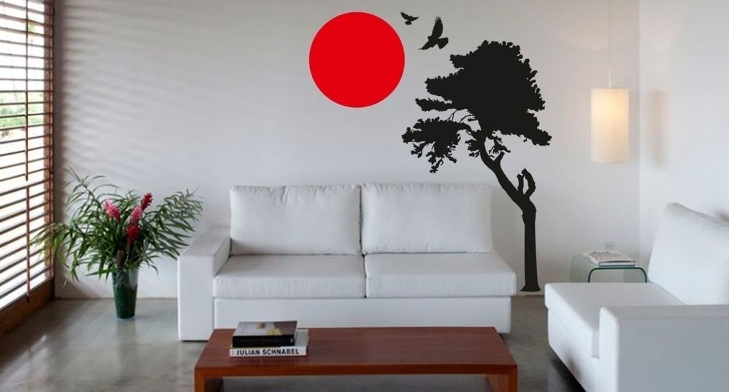16+ Japanese Wall Art Designs, Ideas | Design Trends – Premium Psd Inside Japanese Wall Art (Image 1 of 10)