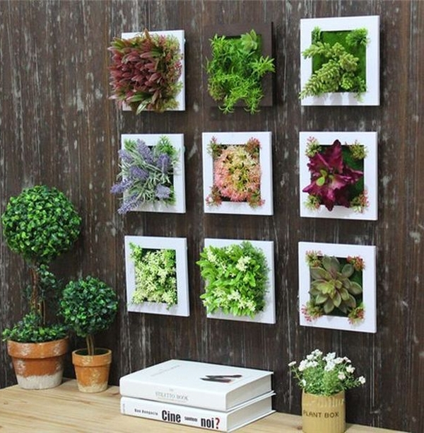20 Gorgeous Succulent Wall Art To Display Houseplants | Home Design In Succulent Wall Art (Image 1 of 10)