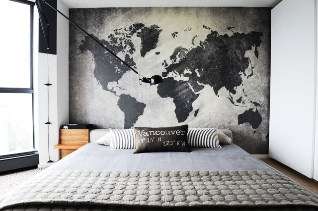 20 Great Wall Decor Ideas For Your Bedroom | Bedroom Design Ideas Within Wall Art For Men (Photo 2 of 10)