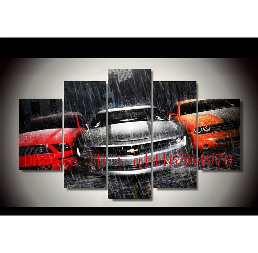 Featured Image of Car Canvas Wall Art