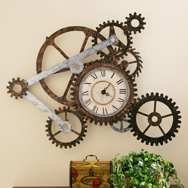21 Cool Tips To Steampunk Your Home | Design Love | Pinterest With Steampunk Wall Art (View 4 of 10)