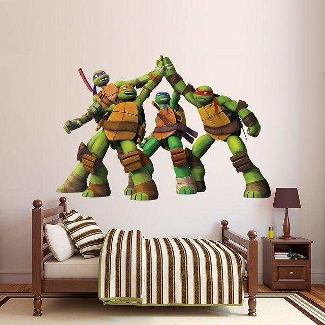 24 Best Of Teenage Mutant Ninja Turtles Wall Art | Mehrgallery In Ninja Turtle Wall Art (Image 2 of 10)