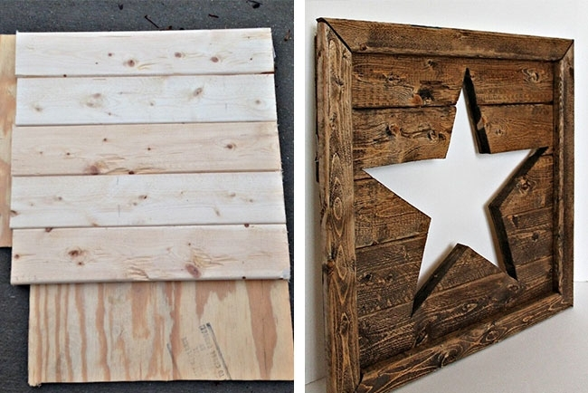 25 Best Wood Wall Decor Ideas | Shutterfly Pertaining To Wood Wall Art Diy (Image 4 of 10)