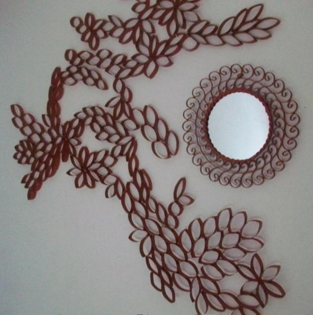25 Creative Diy Toilet Paper Roll Wall Art For Toilet Paper Roll Wall Art (Photo 5 of 10)