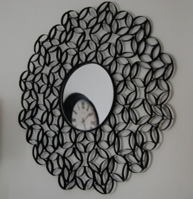 25 Creative Diy Toilet Paper Roll Wall Art In Toilet Paper Roll Wall Art (Image 3 of 10)