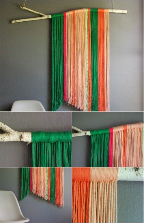 26 Easy And Gorgeous Diy Wall Art Projects That Absolutely Anyone With Diy Wall Art Projects (Image 4 of 10)