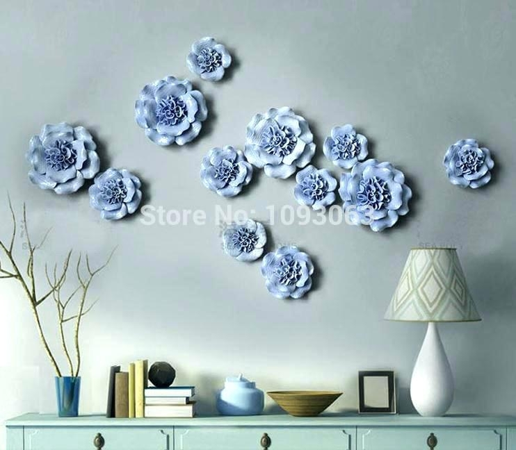 3 Dimensional Wall Art Wall Arts 3 D Wall Art Flower Flowers Ideas With 3 Dimensional Wall Art (Image 3 of 10)