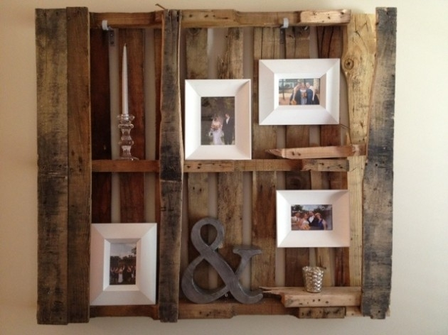 30 Fantastic Diy Pallets Wall Art Ideas Within Pallet Wall Art (Image 4 of 10)