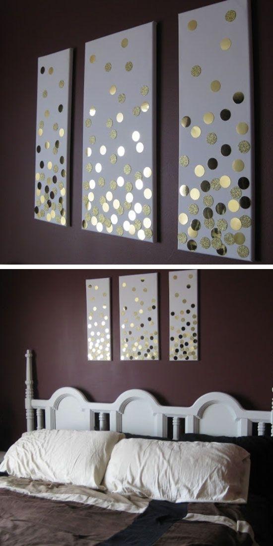 35 Creative Diy Wall Art Ideas For Your Home | Diy Home Decor For Gray Canvas Wall Art (Photo 8 of 10)