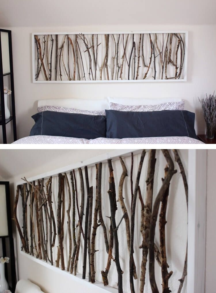 36 Easy Diy Wall Art Ideas To Make Your Home More Stylish | Diy Home Regarding Cheap Wall Art (Photo 9 of 10)