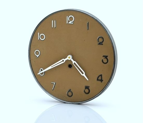3D Art Deco Wall Clock Model  Poser World Professional 3D Models With Art Deco Wall Clock (Image 1 of 10)