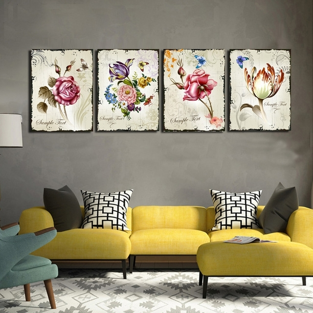Featured Image of Floral Wall Art