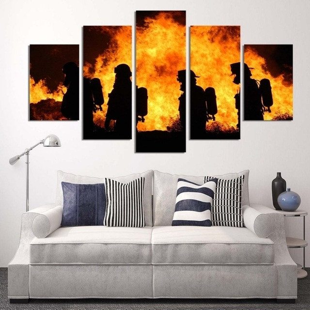 Featured Image of Firefighter Wall Art