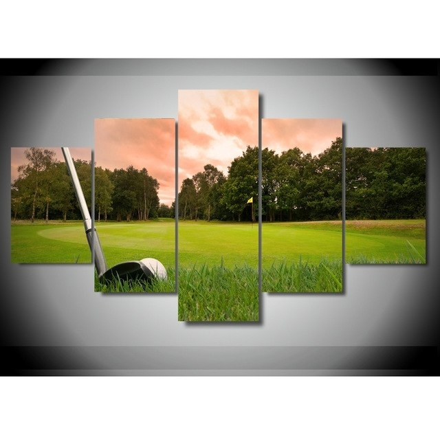 Featured Image of Golf Canvas Wall Art