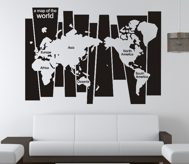 5 Types Of Wall Art Stickers To Beautify The Room » Inoutinterior In Office Wall Art (Image 1 of 10)