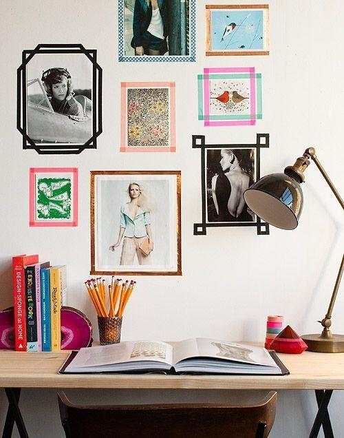 6 Ideeën Met Washi Tape Voor Je Kamer – Girlscene | Washi Tape Wall With Regard To Washi Tape Wall Art (Photo 2 of 10)