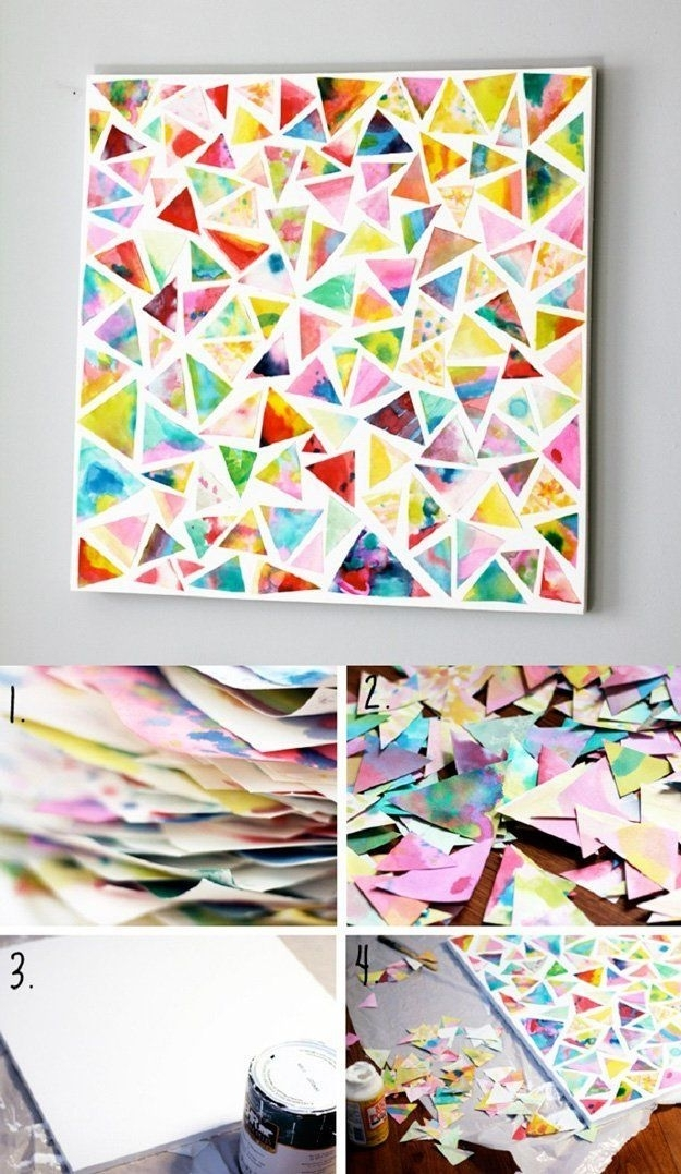 70+ Paper Collage Art Ideas That Kids Will Love – Artsycraftsymom For Diy Wall Art Projects (Image 7 of 10)