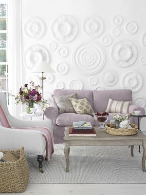 9 Makeovers You Can Do In 1 Day | Ceiling Medallions, Ceilings And Walls Inside Ceiling Medallion Wall Art (Image 2 of 10)
