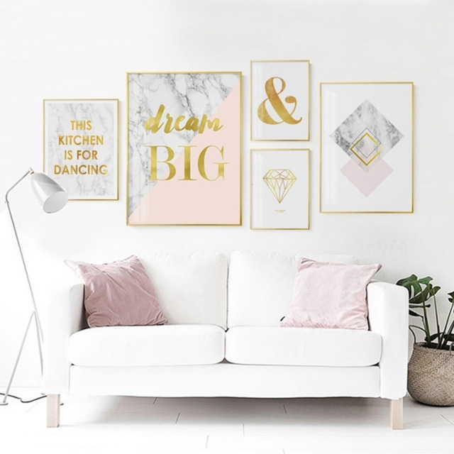 Featured Image of Gold Wall Art