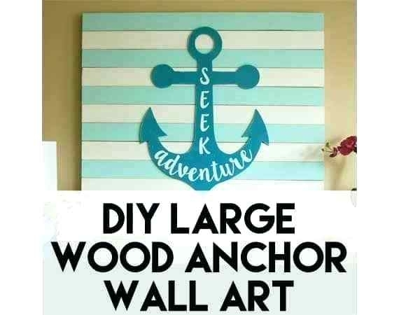Anchor Wall Art Nautical Anchor Wall Art – Sorenstetson Throughout Anchor Wall Art (View 8 of 10)